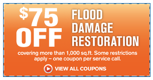 $75 OFF Emergency Flood Restoration